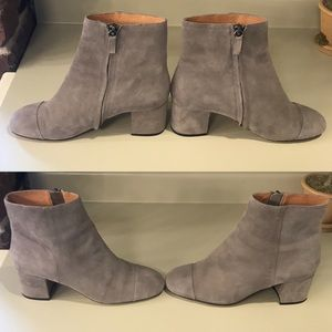 Halogen Cade Suede Ankle Boots